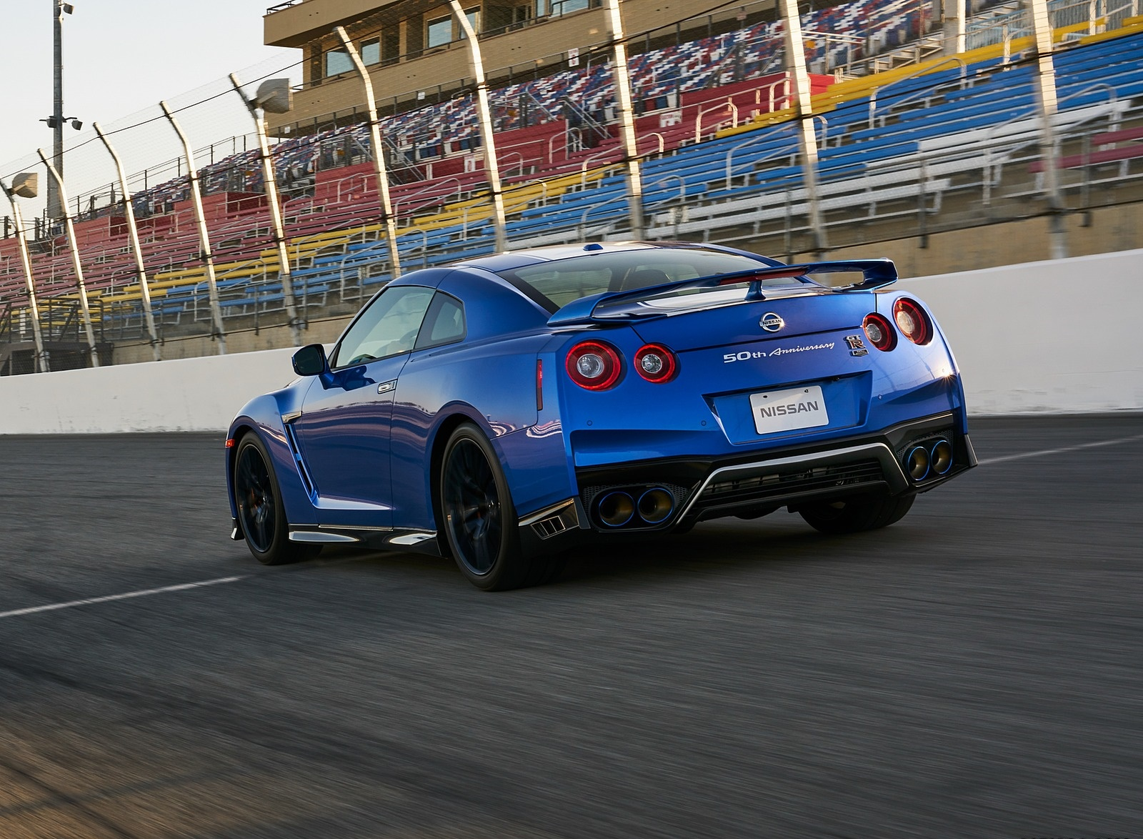 2020 Nissan GT-R 50th Anniversary Edition Rear Three-Quarter Wallpapers (5)