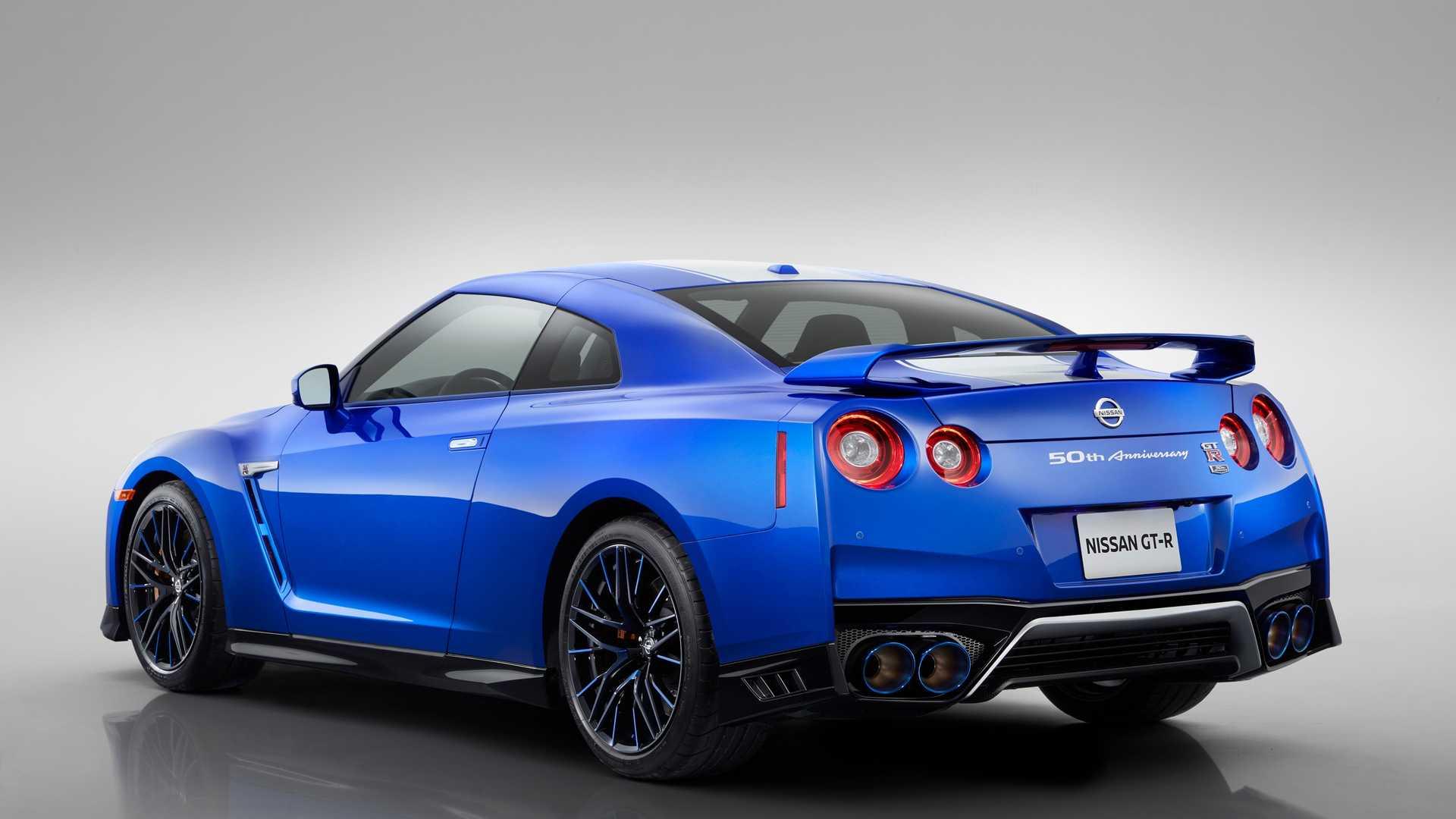 2020 Nissan GT-R 50th Anniversary Edition Rear Three-Quarter Wallpapers (15)