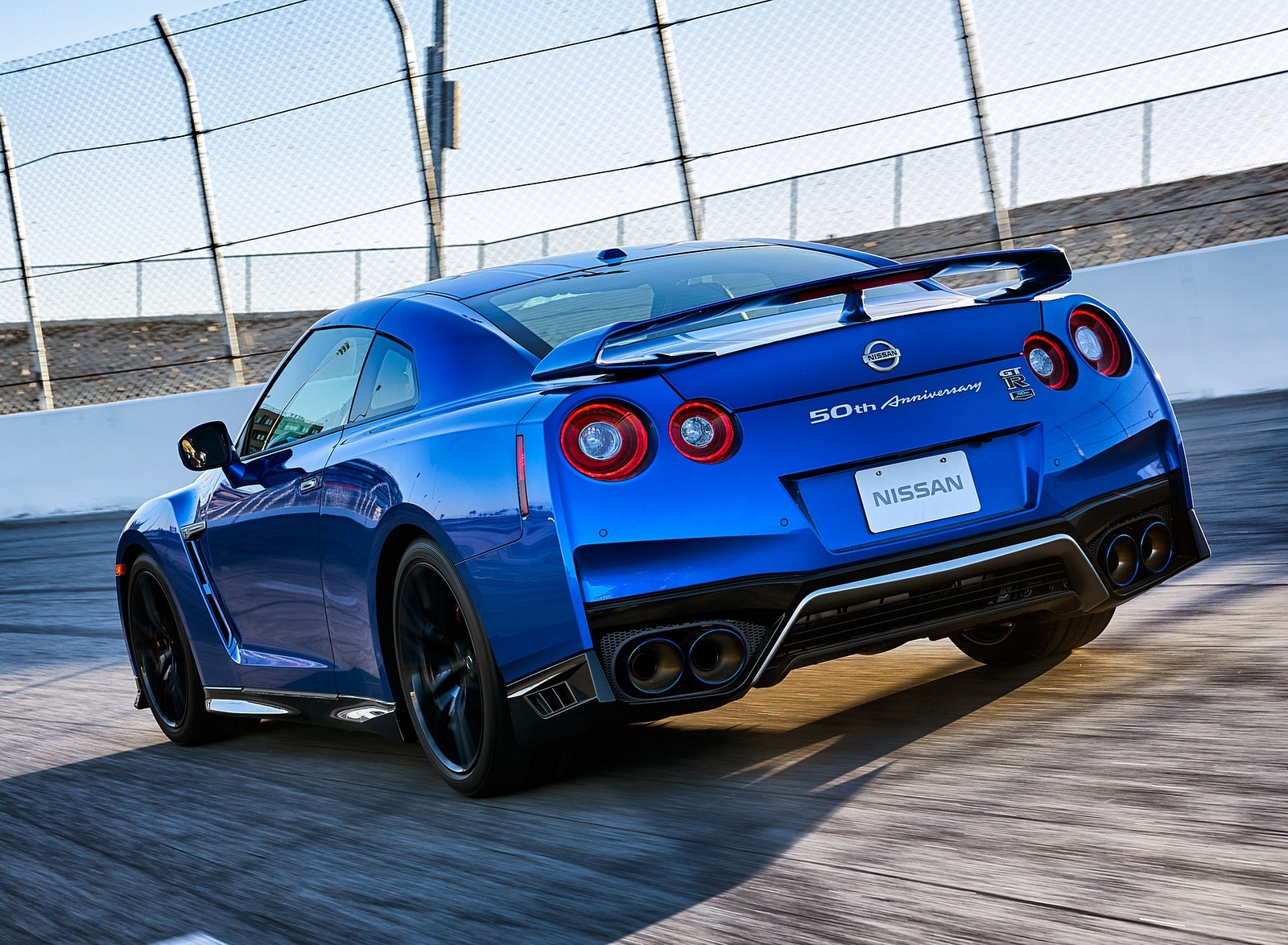 2020 Nissan GT-R 50th Anniversary Edition Rear Three-Quarter Wallpapers (9)
