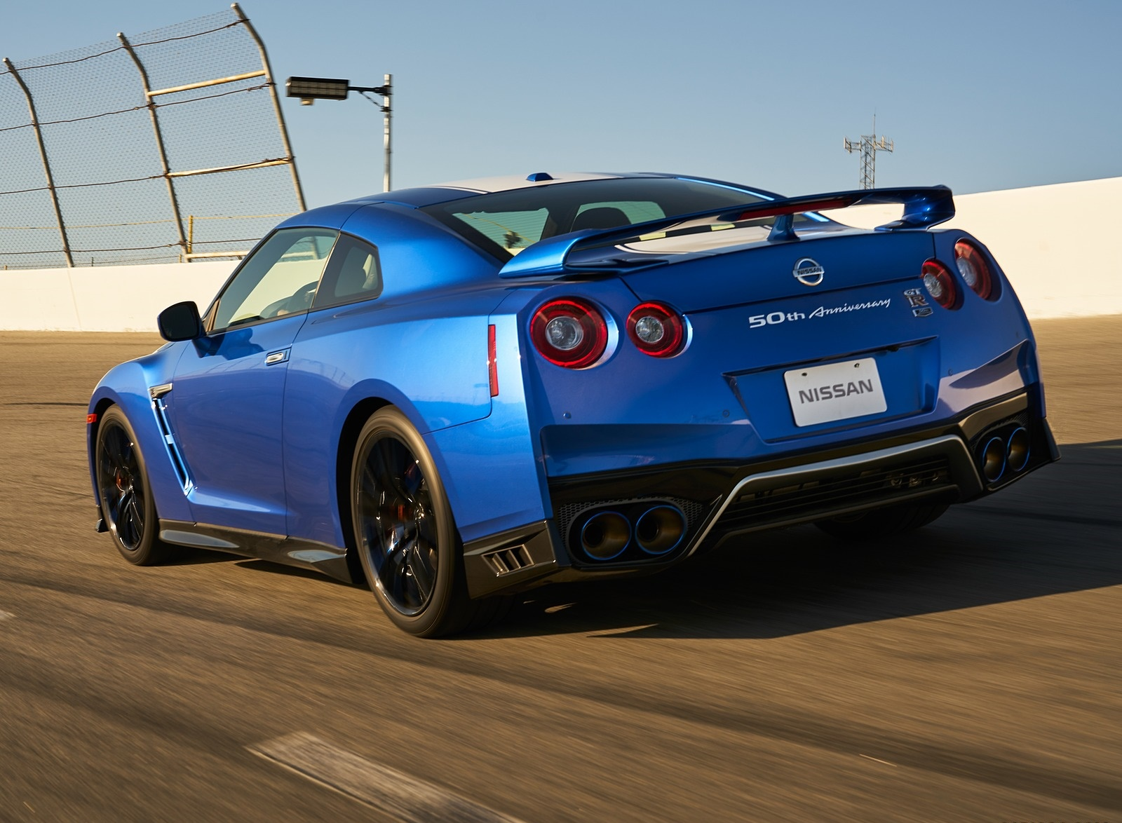 2020 Nissan GT-R 50th Anniversary Edition Rear Three-Quarter Wallpapers (6)