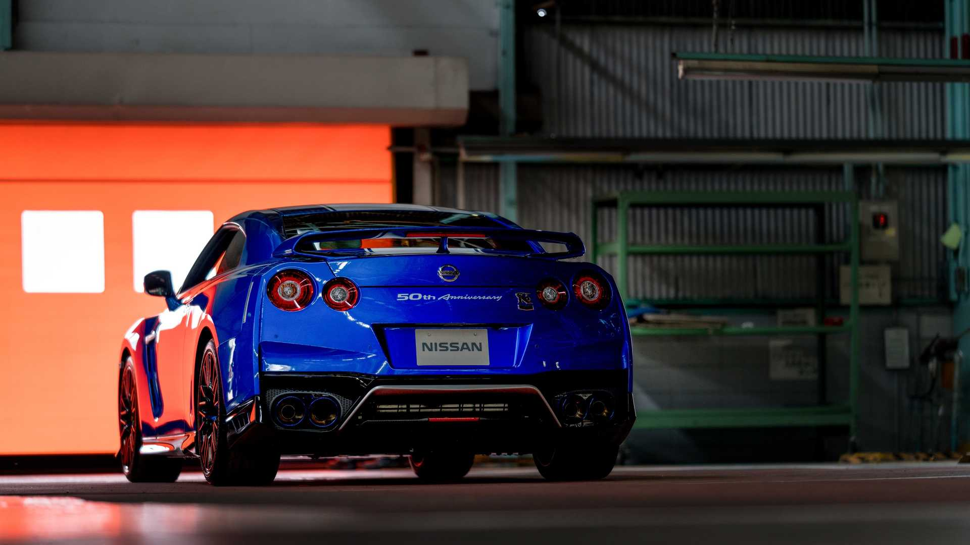 2020 Nissan GT-R 50th Anniversary Edition Rear Wallpapers (4)