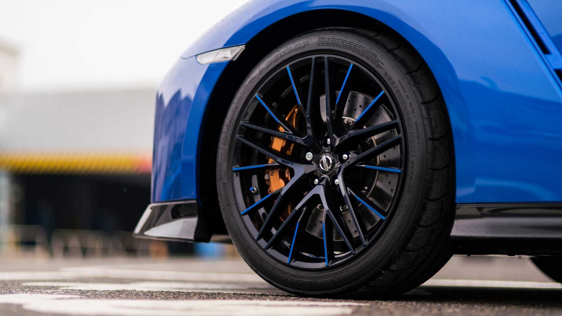 2020 Nissan GT-R 50th Anniversary Edition Wheel Wallpapers (6)