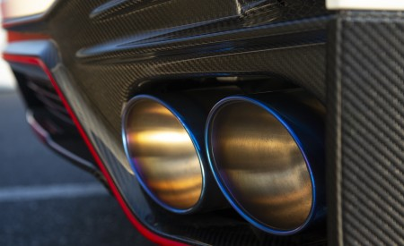 2020 Nissan GT-R NISMO Exhaust Wallpapers 450x275 (48)