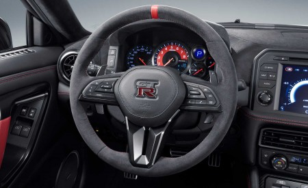 2020 Nissan GT-R NISMO Interior Steering Wheel Wallpapers 450x275 (79)