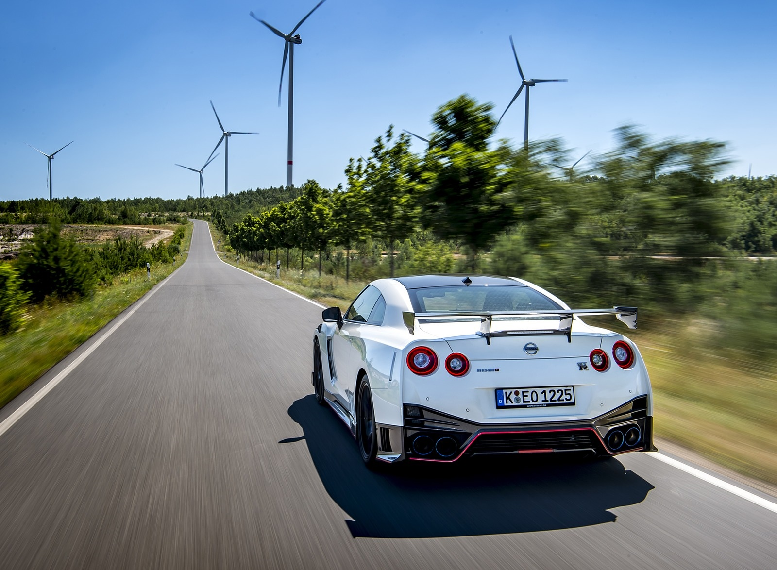 2020 Nissan GT-R NISMO Rear Wallpapers #9 of 90