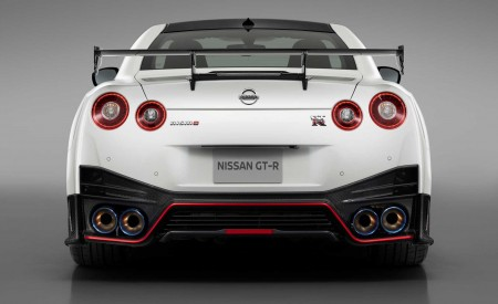 2020 Nissan GT-R NISMO Rear Wallpapers 450x275 (86)
