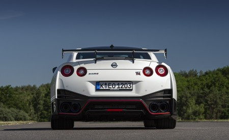 2020 Nissan GT-R NISMO Rear Wallpapers 450x275 (32)