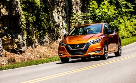 2020 Nissan Versa Wallpapers HD