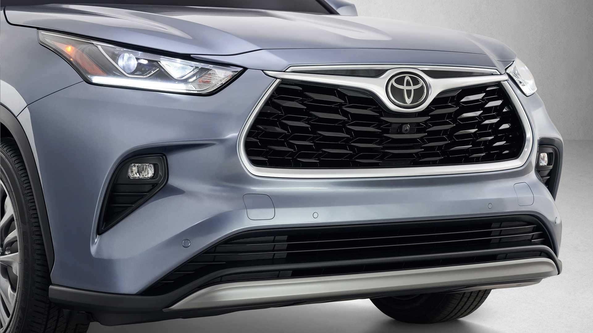 2020 Toyota Highlander Front Bumper Wallpapers (8)