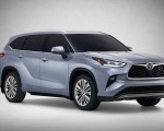 2020 Toyota Highlander Front Three-Quarter Wallpapers 150x120 (2)