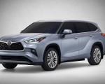 2020 Toyota Highlander Front Three-Quarter Wallpapers 150x120 (1)