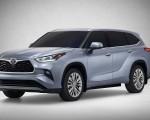 2020 Toyota Highlander Front Three-Quarter Wallpaper 150x120 (1)
