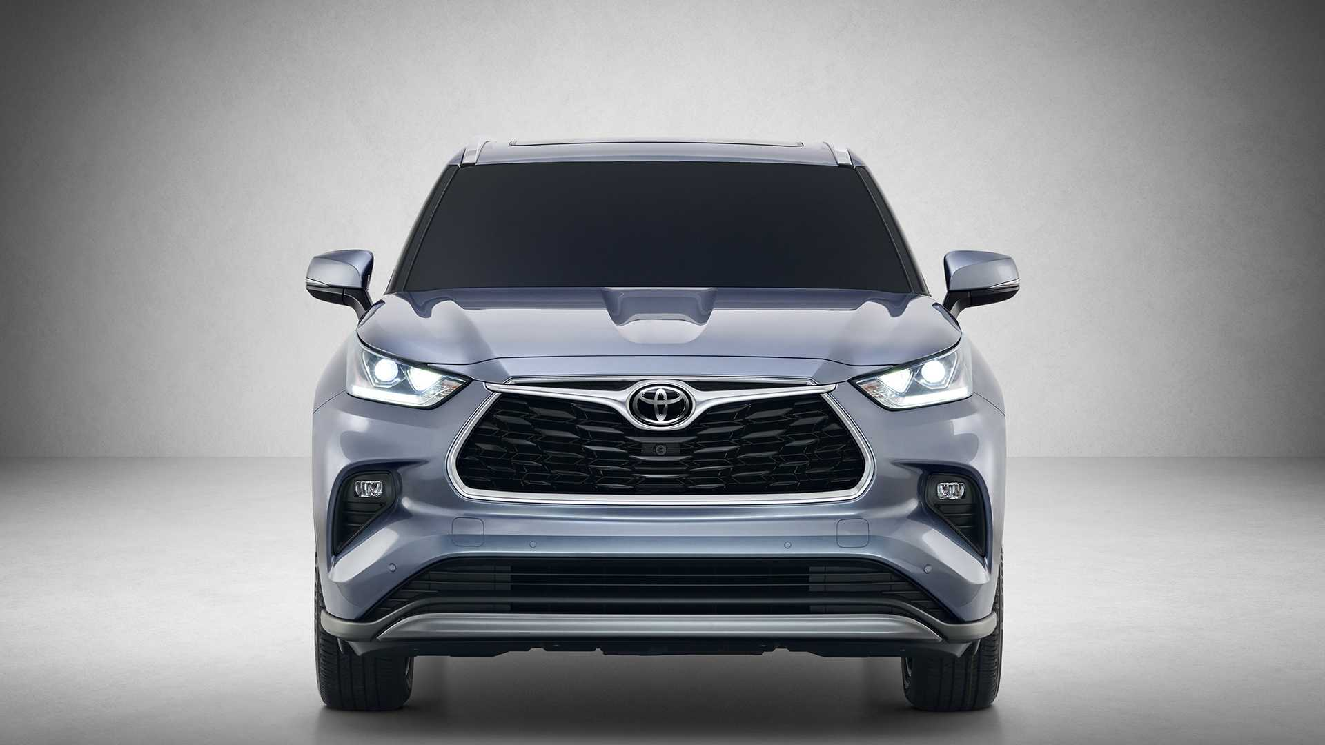 2020 Toyota Highlander Front Wallpapers (3)