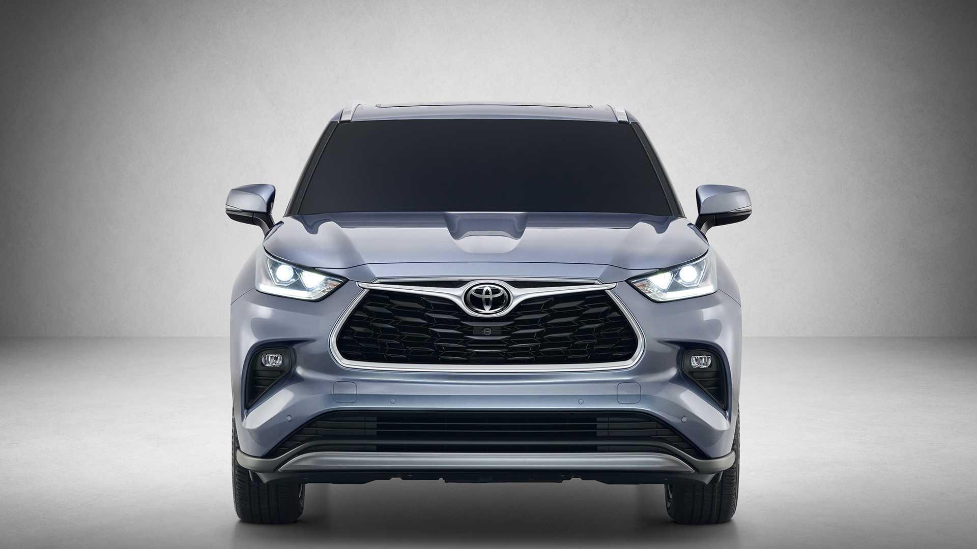 2020 Toyota Highlander Front Wallpaper (3)