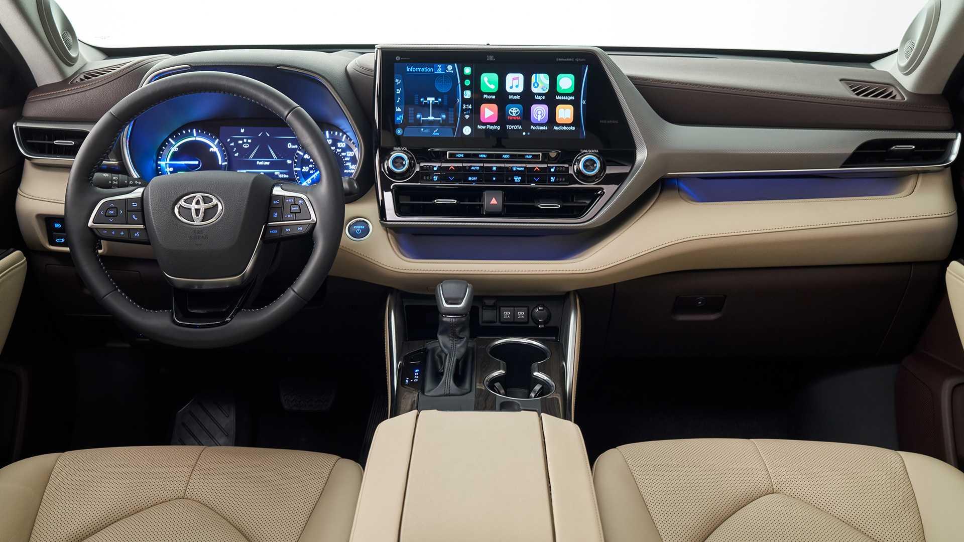 2020 Toyota Highlander Interior Wallpapers (13)