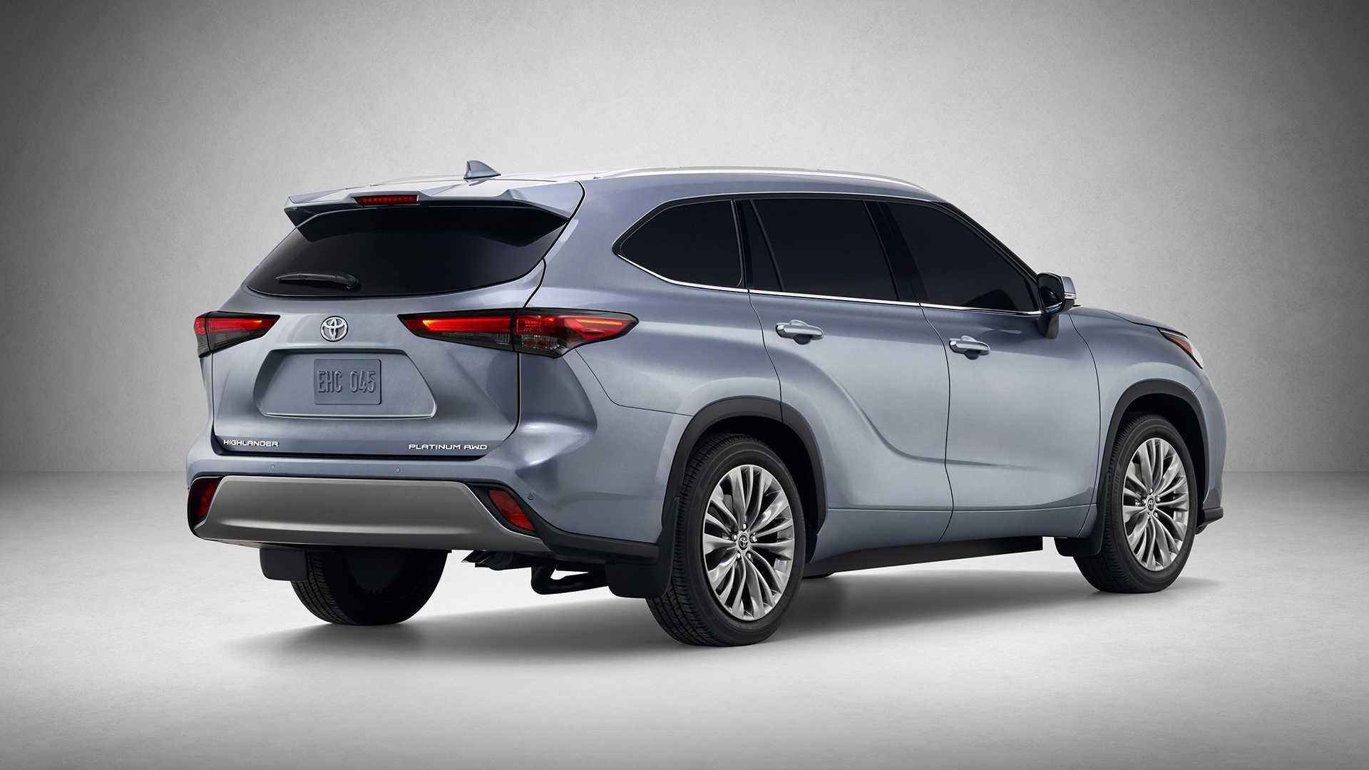 2020 Toyota Highlander Rear Three-Quarter Wallpapers (7)