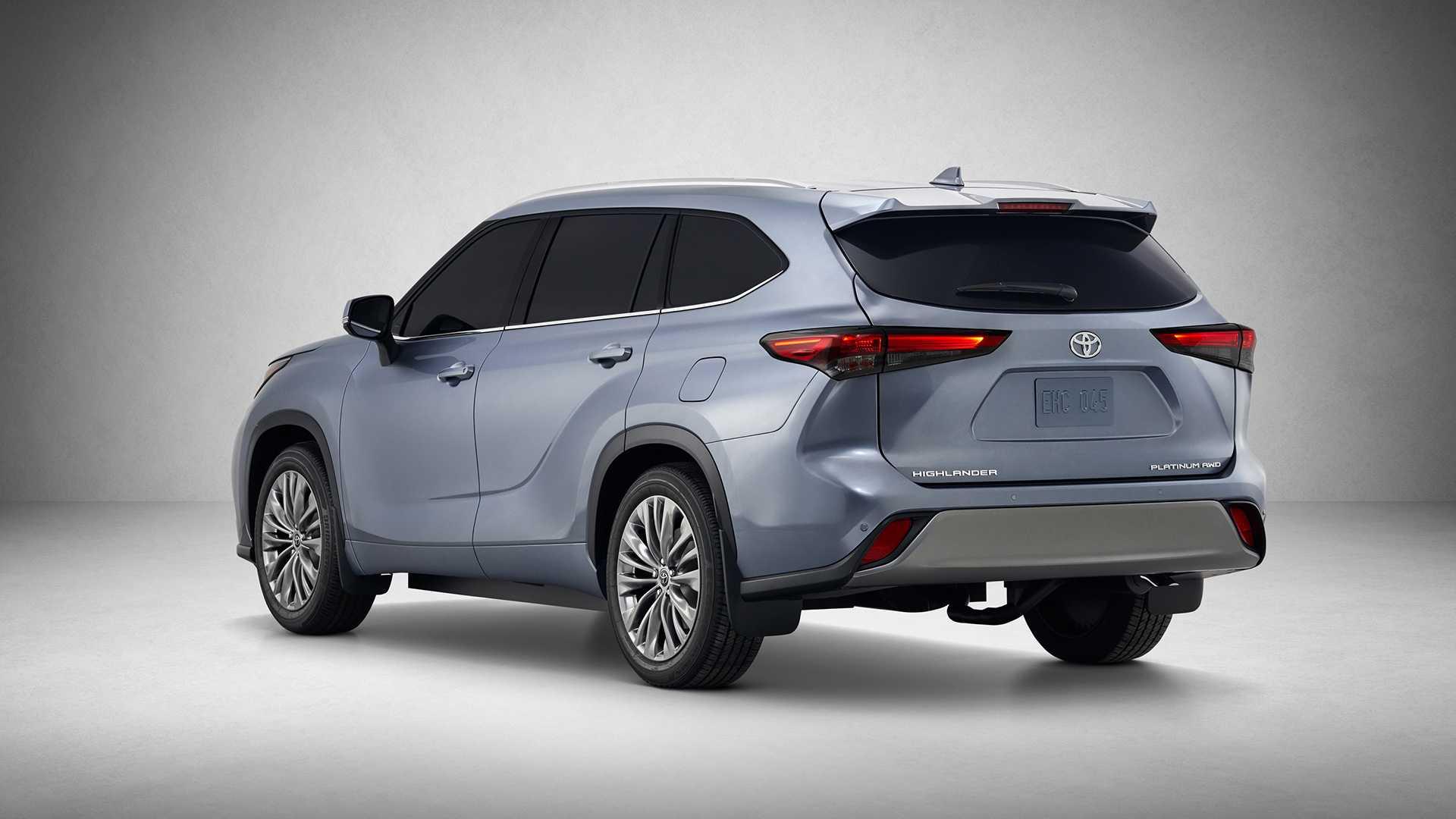 2020 Toyota Highlander Rear Three-Quarter Wallpapers (4)