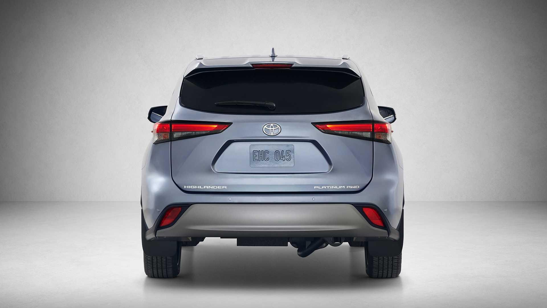2020 Toyota Highlander Rear Wallpapers (5)