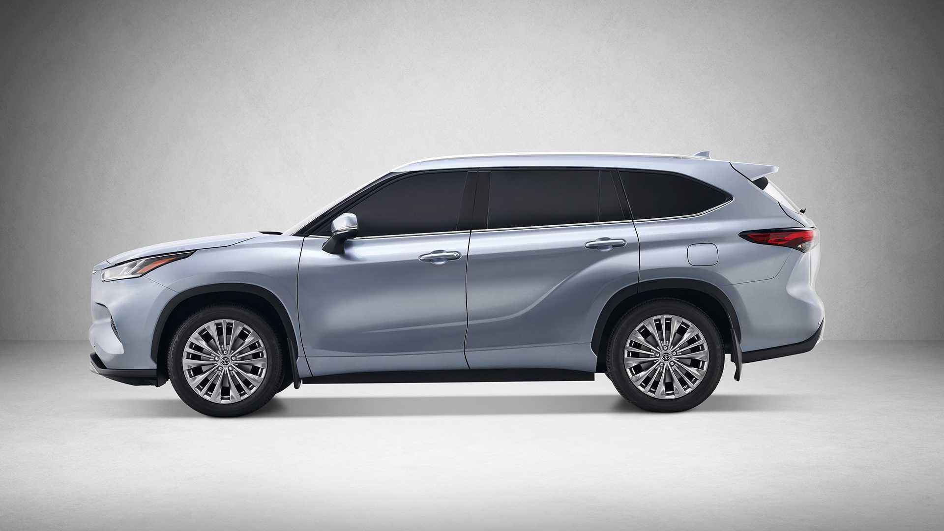 2020 Toyota Highlander Side Wallpapers (6)