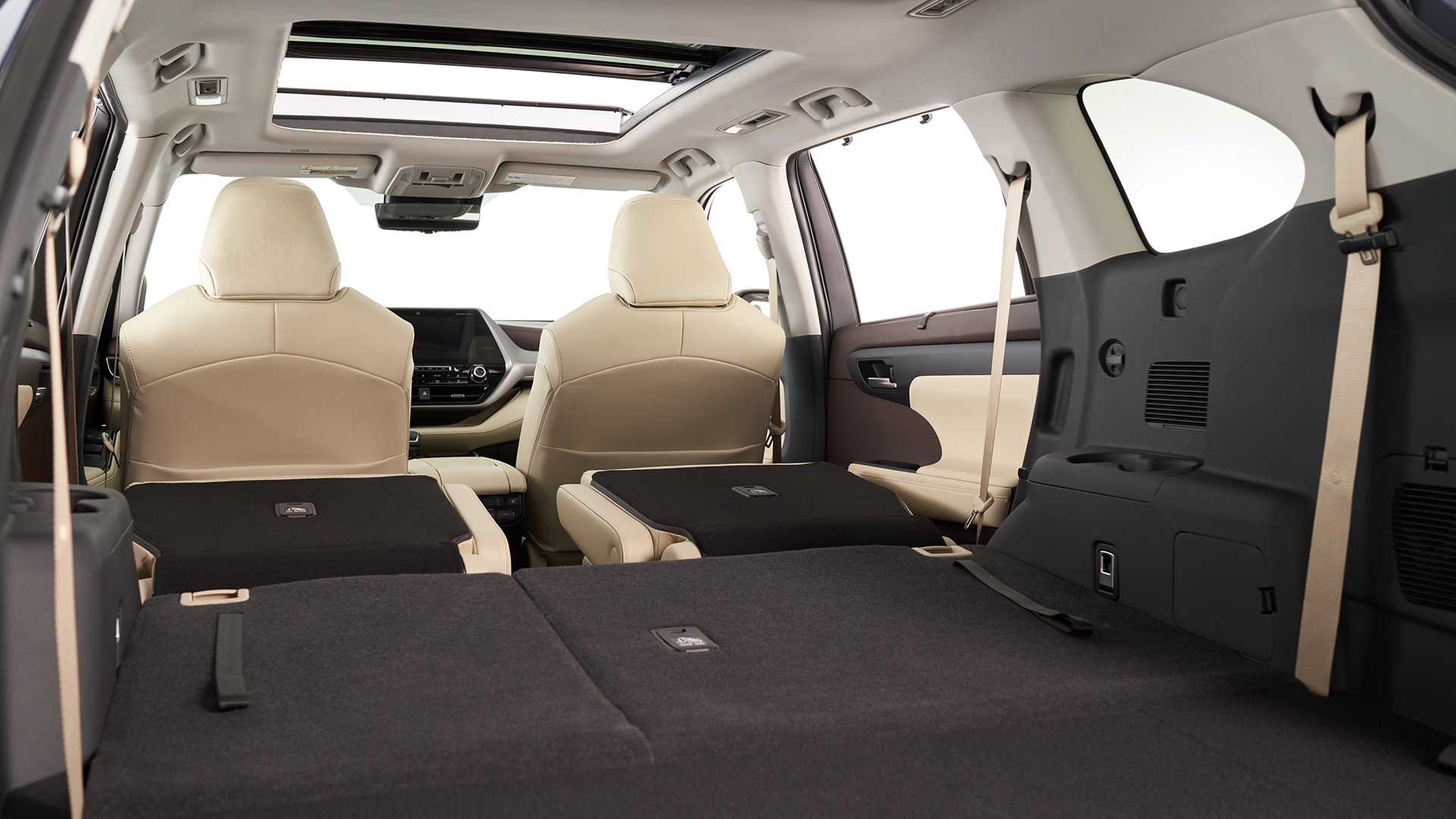 2020 Toyota Highlander Trunk Wallpapers (10)