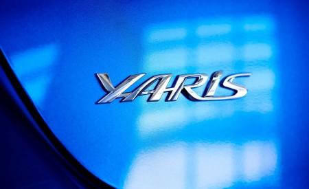 2020 Toyota Yaris Hatchback Badge Wallpapers 450x275 (5)