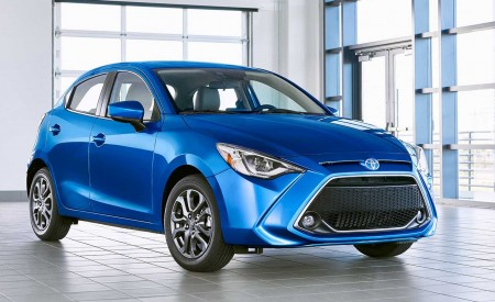2020 Toyota Yaris Hatchback Wallpapers HD