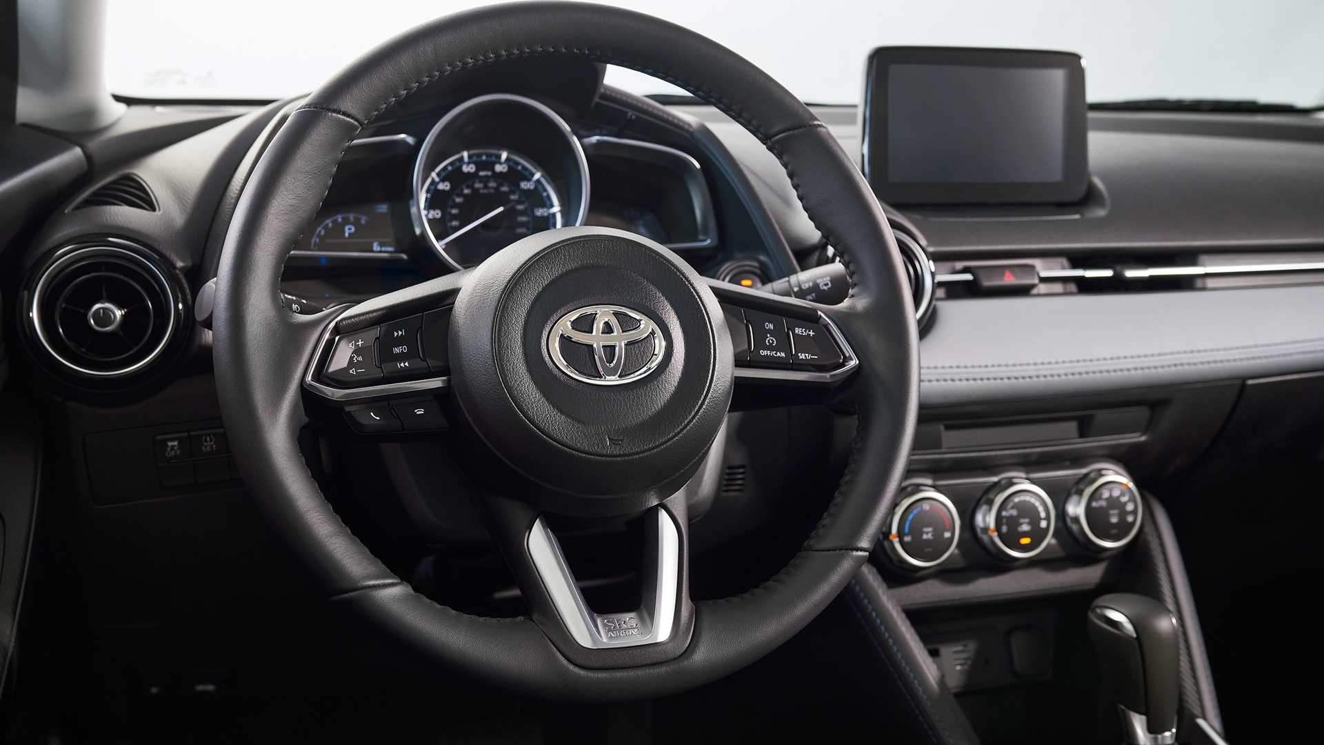 2020 Toyota Yaris Hatchback Interior Steering Wheel Wallpaper (9)