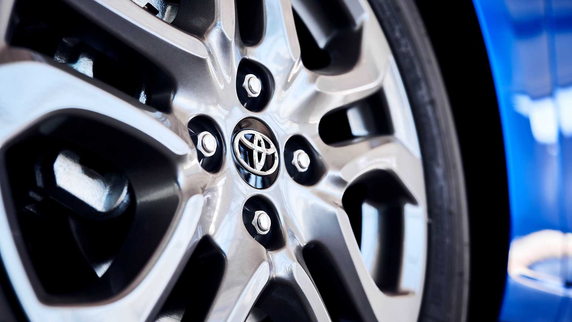 2020 Toyota Yaris Hatchback Wheel Wallpaper (8)