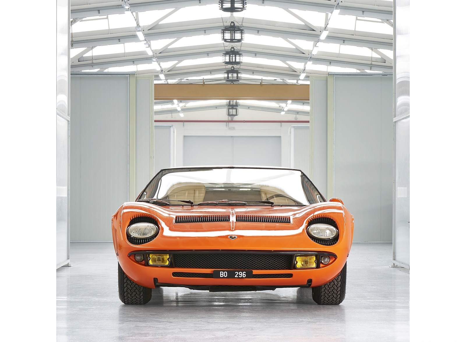 1969 Lamborghini Miura P400 Front Wallpapers (2)