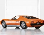 1969 Lamborghini Miura P400 Rear Three-Quarter Wallpapers 150x120 (3)