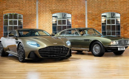 2019 Aston Martin DBS Superleggera On Her Majesty's Secret Service Wallpapers