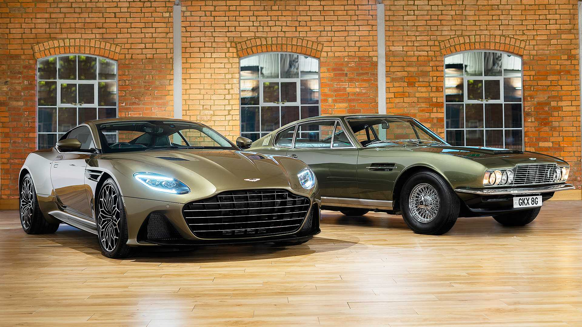 2019 Aston Martin DBS Superleggera On Her Majesty's Secret Service Front Three-Quarter Wallpapers (1)