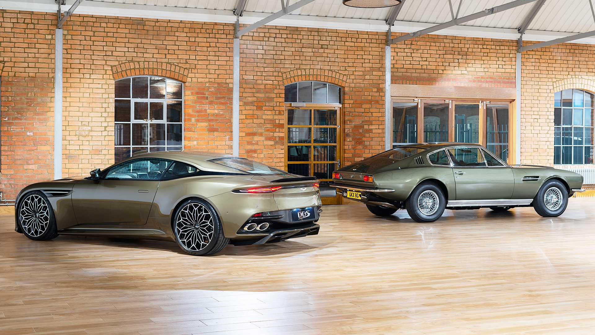 2019 Aston Martin DBS Superleggera On Her Majesty's Secret Service Rear Three-Quarter Wallpapers (6)