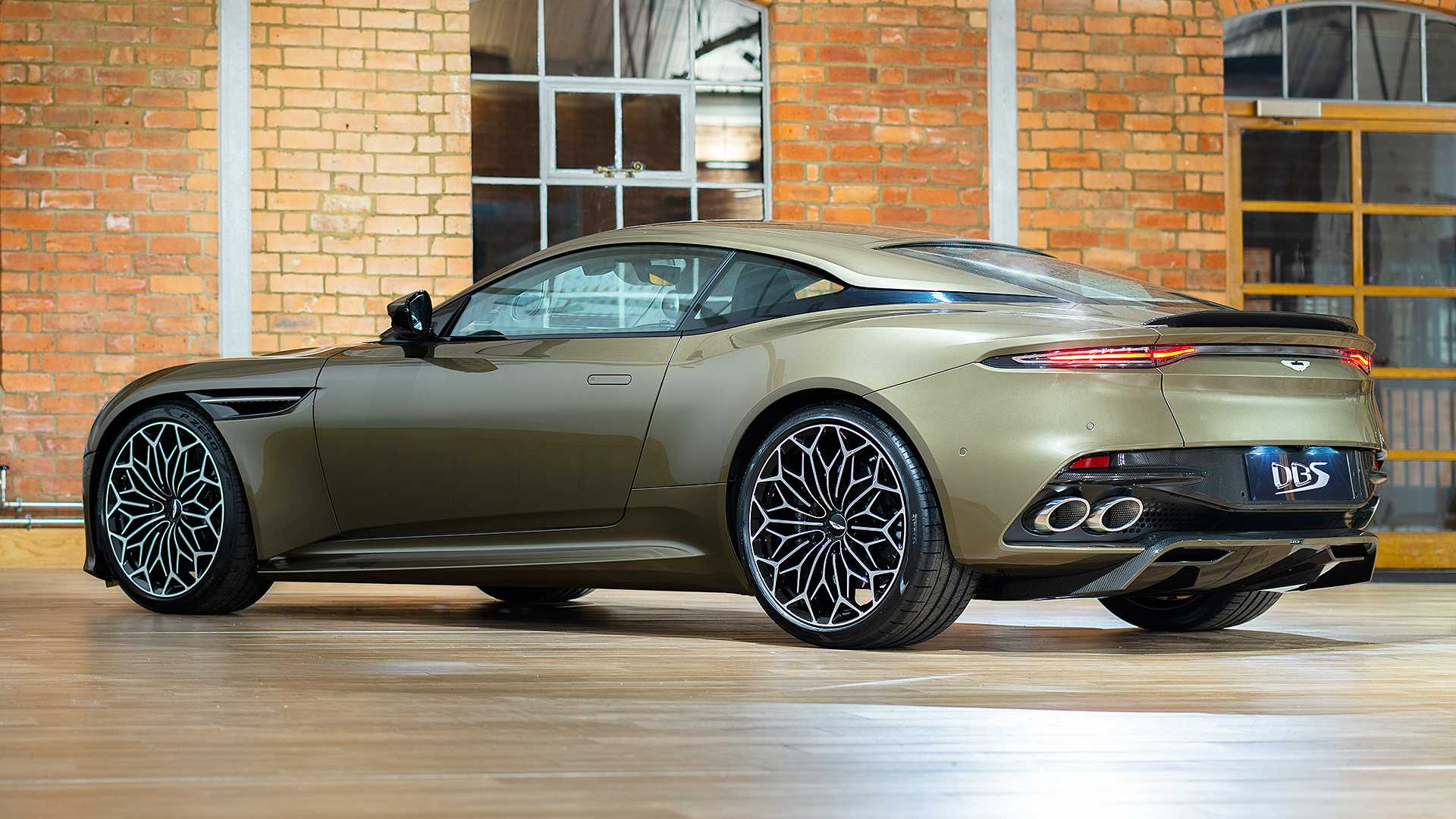2019 Aston Martin DBS Superleggera On Her Majesty's Secret Service Rear Three-Quarter Wallpapers (7)