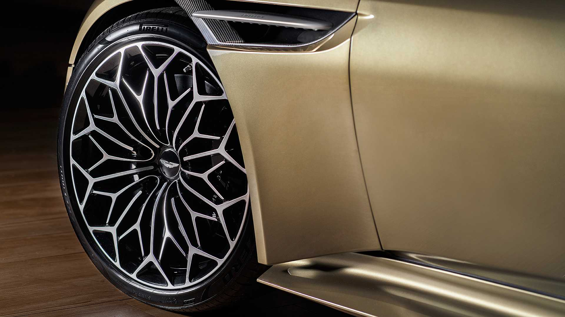 2019 Aston Martin DBS Superleggera On Her Majesty's Secret Service Wheel Wallpapers (8)