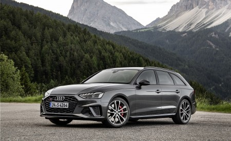 2019 Audi S4 Avant TDI (Color: Daytona Gray) Front Three-Quarter Wallpapers 450x275 (7)