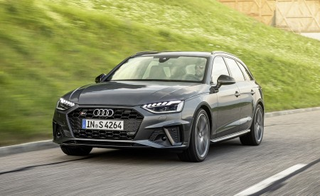 2019 Audi S4 Avant TDI (Color: Daytona Gray) Front Three-Quarter Wallpapers 450x275 (2)