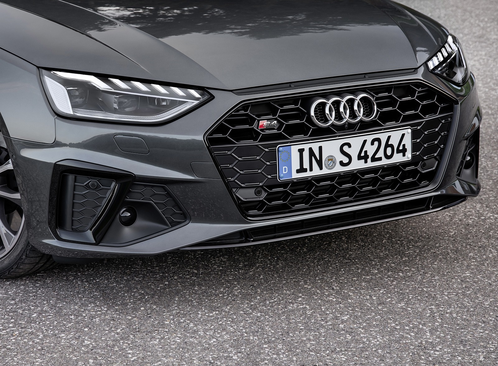 2019 Audi S4 Avant TDI (Color: Daytona Gray) Front Wallpapers (9)