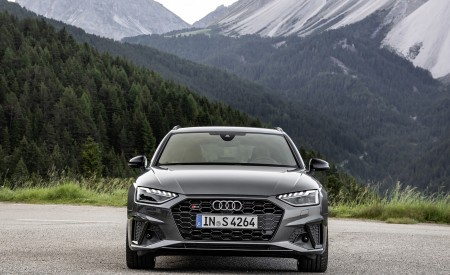 2019 Audi S4 Avant TDI (Color: Daytona Gray) Front Wallpapers 450x275 (10)