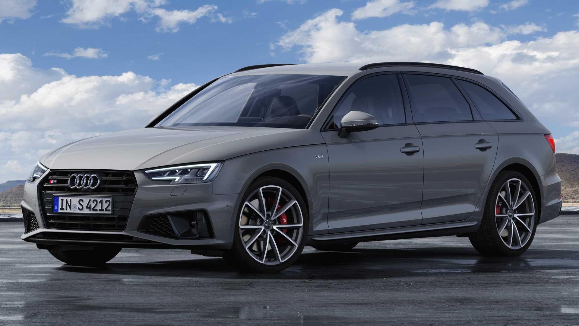2019 Audi S4 Avant TDI (Color: Quantum Gray) Front Three-Quarter Wallpapers (5)