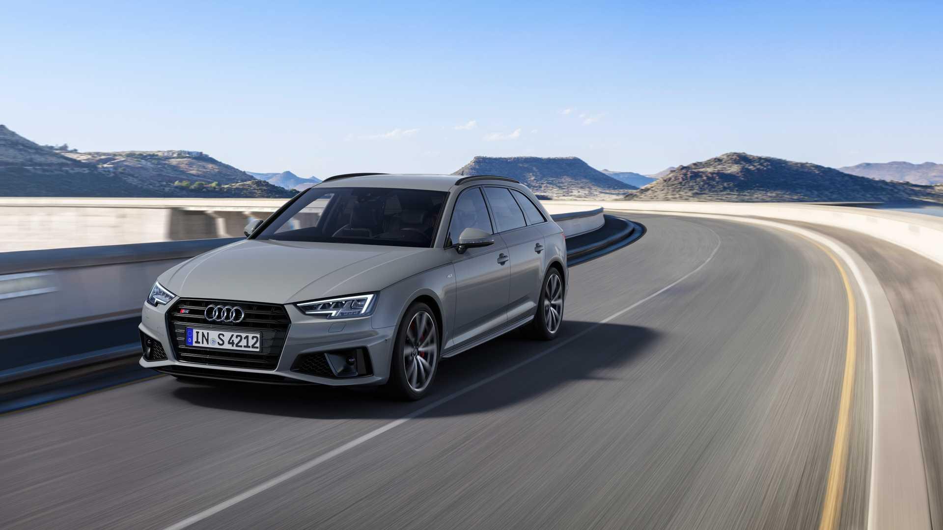 2019 Audi S4 Avant TDI (Color: Quantum Gray) Front Three-Quarter Wallpapers (2)