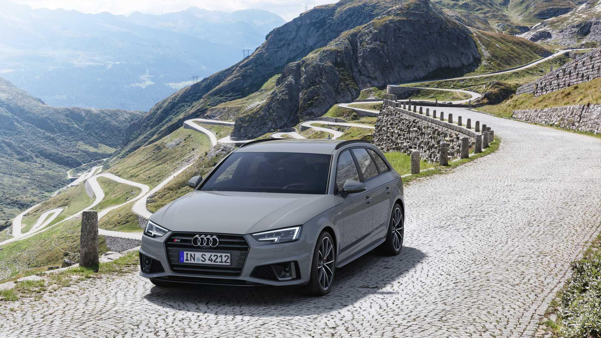 2019 Audi S4 Avant TDI (Color: Quantum Gray) Front Three-Quarter Wallpapers (6)