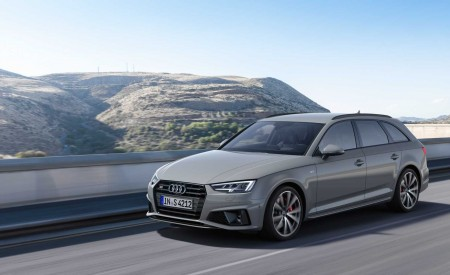 2019 Audi S4 Avant TDI (Color: Quantum Gray) Front Three-Quarter Wallpapers 450x275 (20)