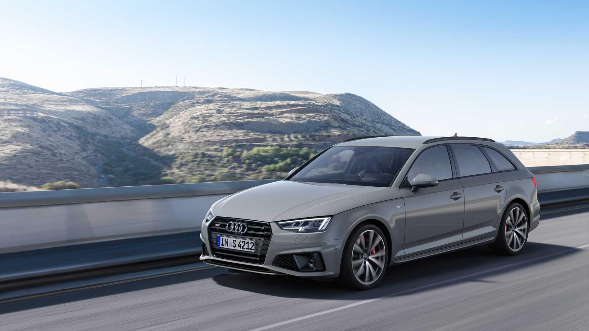 2019 Audi S4 Avant TDI (Color: Quantum Gray) Front Three-Quarter Wallpapers (1)