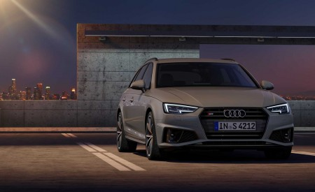 2019 Audi S4 Avant TDI (Color: Quantum Gray) Front Wallpapers 450x275 (30)