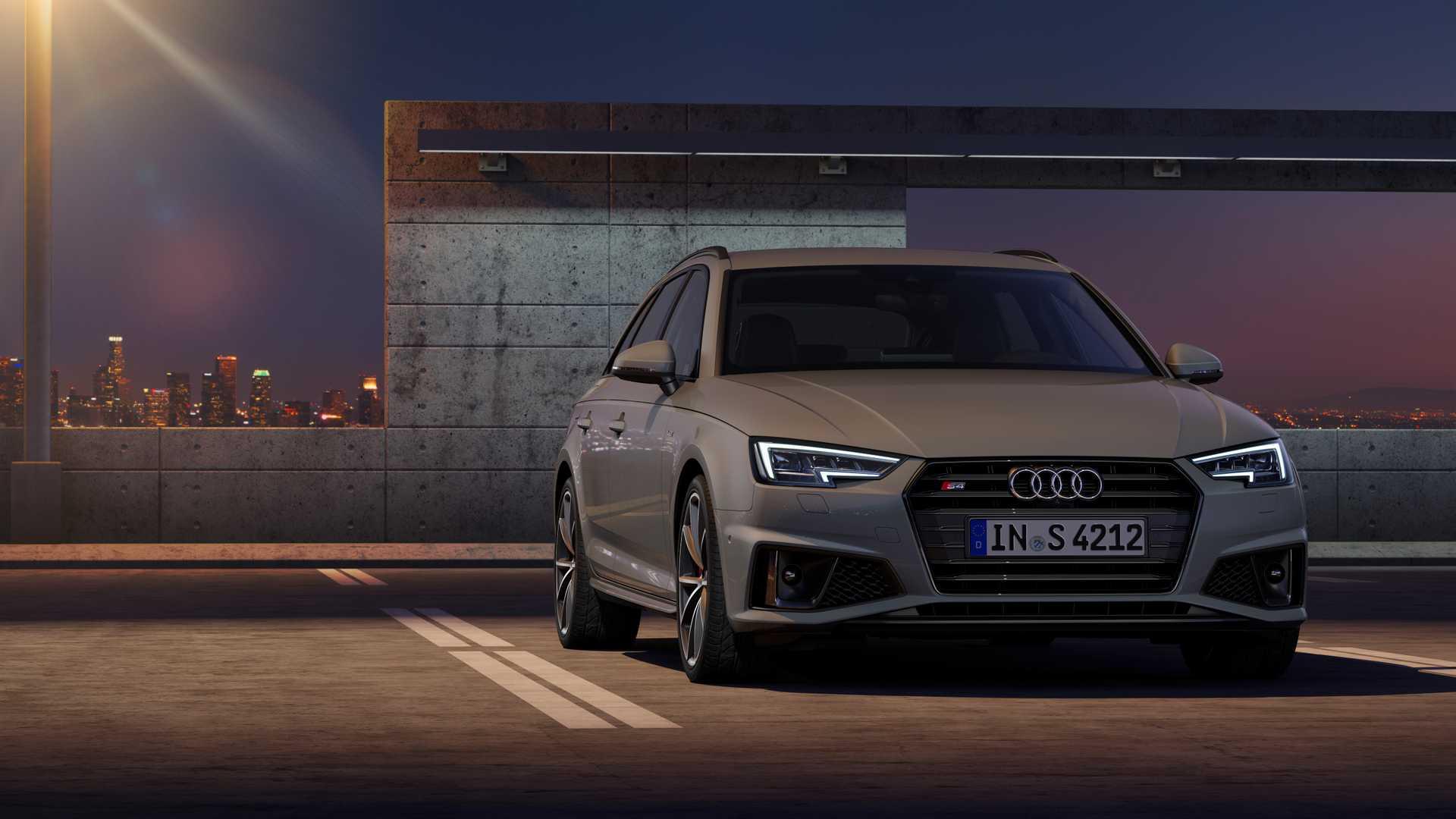 2019 Audi S4 Avant TDI (Color: Quantum Gray) Front Wallpapers (11)