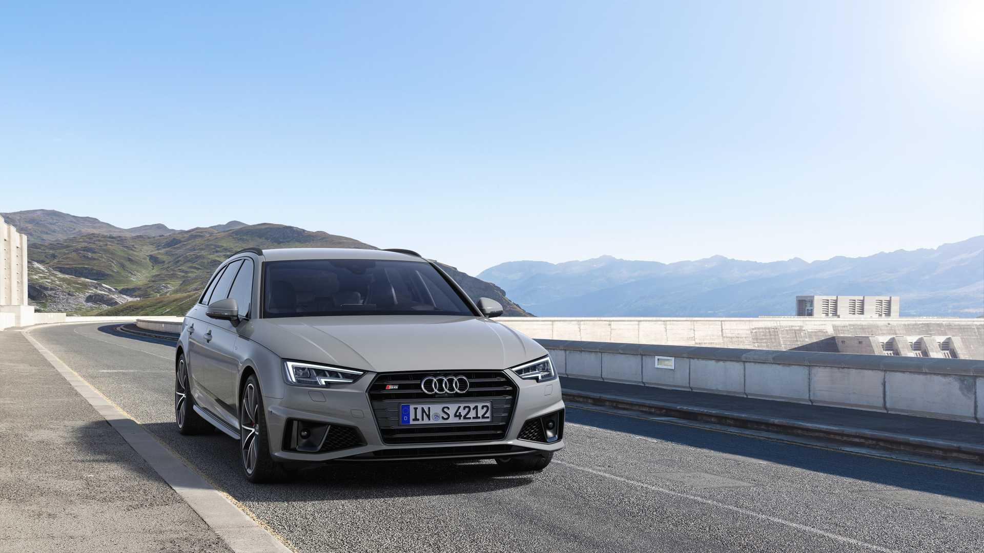 2019 Audi S4 Avant TDI (Color: Quantum Gray) Front Wallpapers (7)