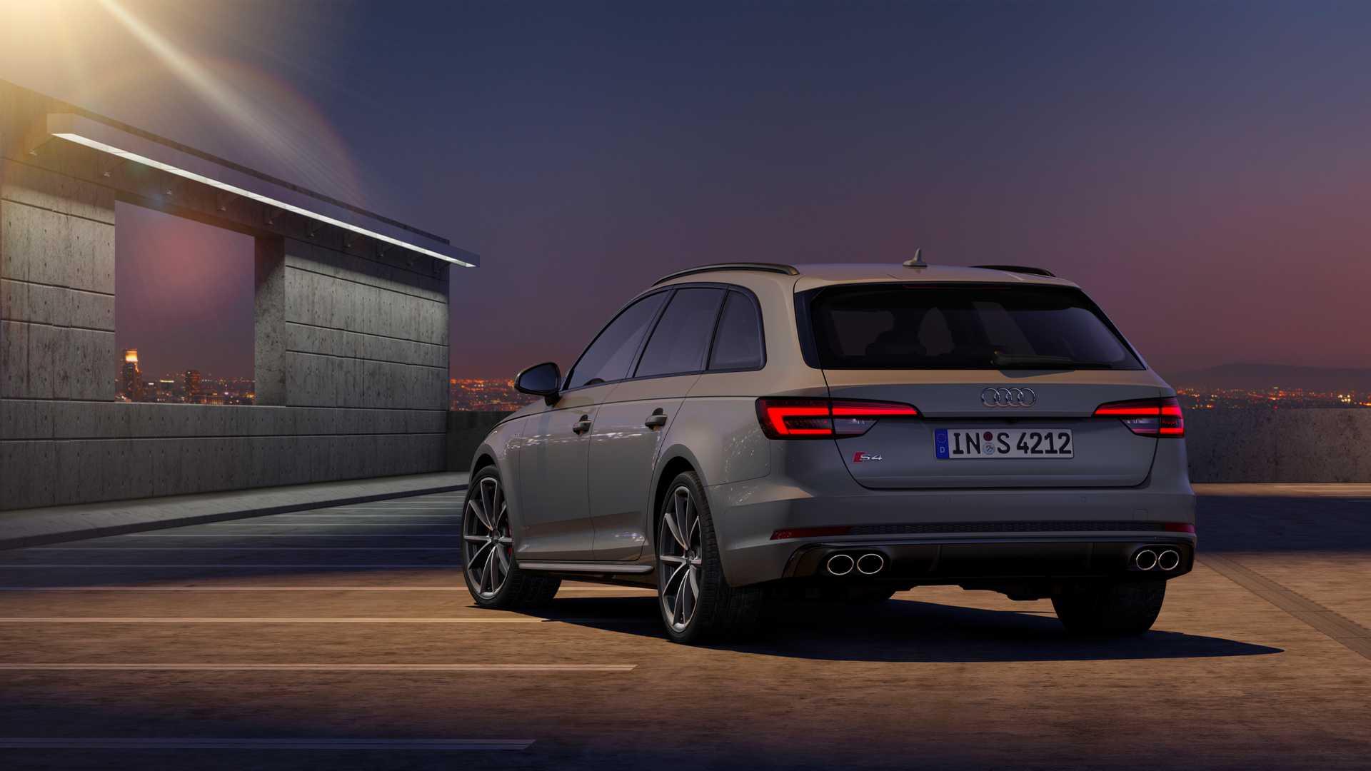 2019 Audi S4 Avant TDI (Color: Quantum Gray) Rear Wallpapers (12)