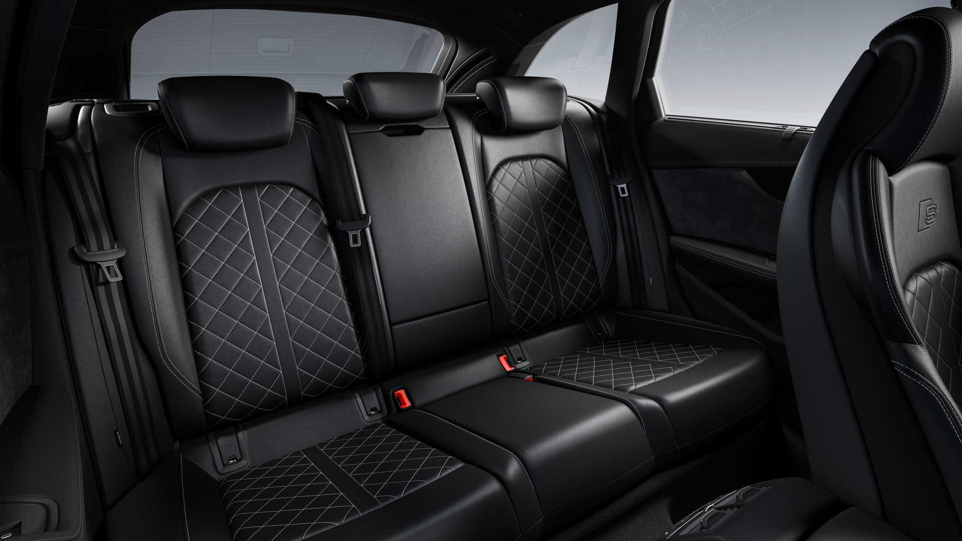 2019 Audi S4 Avant TDI Interior Rear Seats Wallpapers (13)