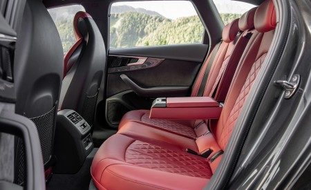 2019 Audi S4 Avant TDI Interior Rear Seats Wallpapers 450x275 (15)